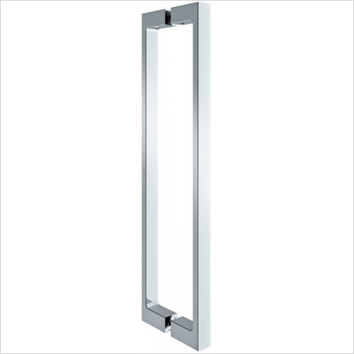 Merlyn - 10 Series Pivot Door 800mm & Inline Panel 600mm