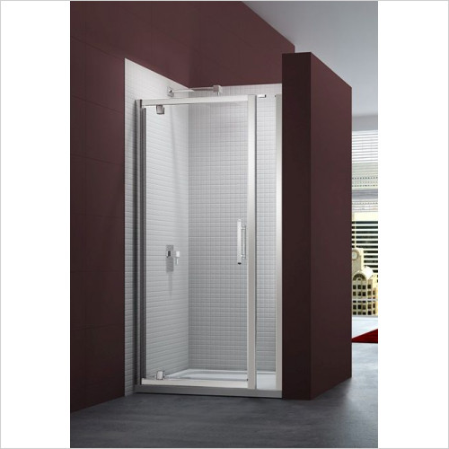 Merlyn - 6 Series Pivot Door & Inline Panel 690-740mm