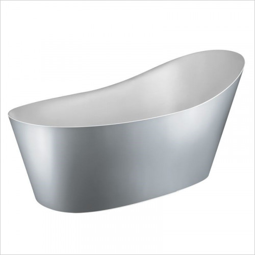 Gessi - Cono Freestanding Bathtub External Lacquering Waste Included
