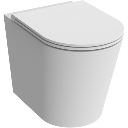 Saneux - Icon Round Back To Wall Pan