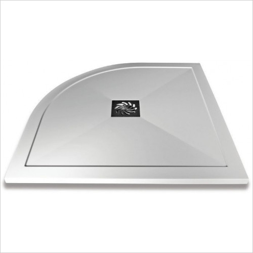 Saneux - H25 Quadrant Shower Tray 1000 x 800mm RH