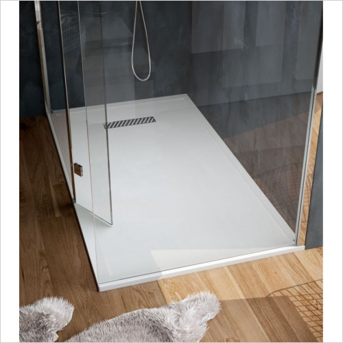 Saneux - L25 Linear Shower Tray 900 x 900mm Square