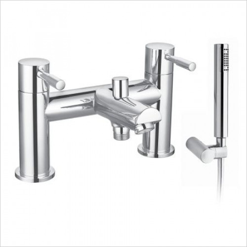 Saneux - Pascale Bath Shower Mixer Includes Hose, Handset And Bracket