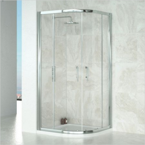 Saneux - Wosh Shower Quadrant 900 Sil 6mm