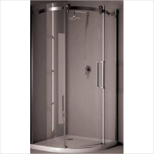 Saneux - Steel Shower Quadrant 800 (Box 1 Of 2)