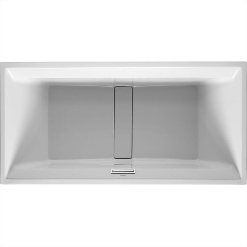 2nd Floor Bathtub 2000x1000mm Built-In Incl Support Frame