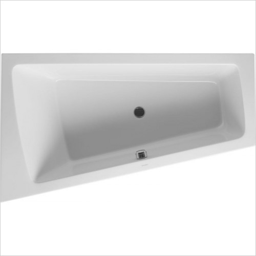 Duravit - PaioVA Bathtub 1700x1000mm Corner Left Built-In Support Fram