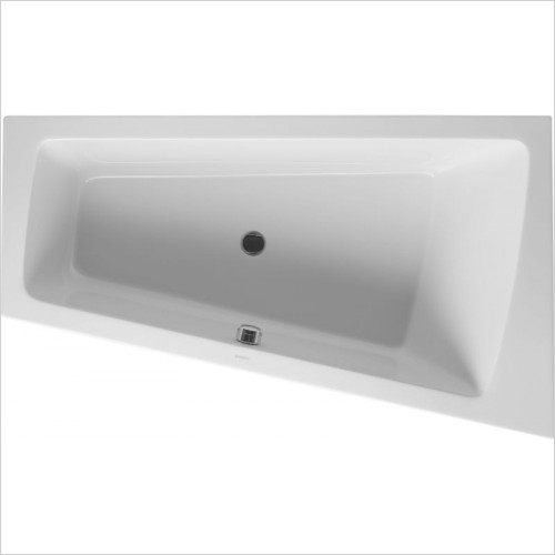 Duravit - PaioVA Bathtub 1700x1000mm Corner Right Built-In Support Fra