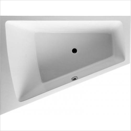 Duravit - PaioVA Bathtub 1700x1300mm Corner Left Built-In Support Fram