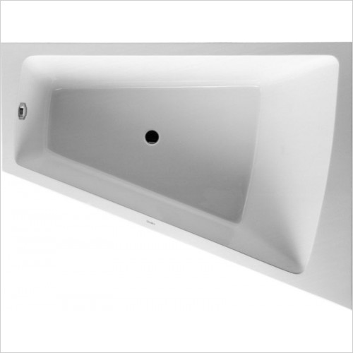 Duravit - PaioVA Bathtub 1700x1300mm Corner Right With Integrated Pane