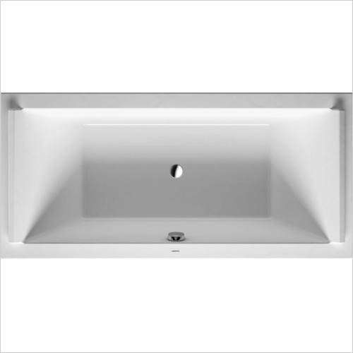 Duravit - Starck Bathtub 2000x1000mm Built-In Incl Support Frame