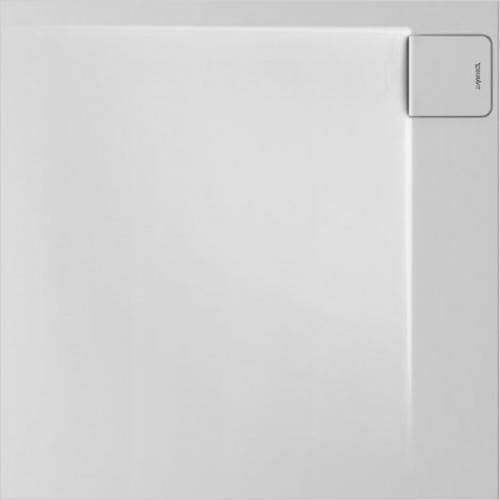 P3 Comforts Shower Tray 900x900mm Square Corner Right