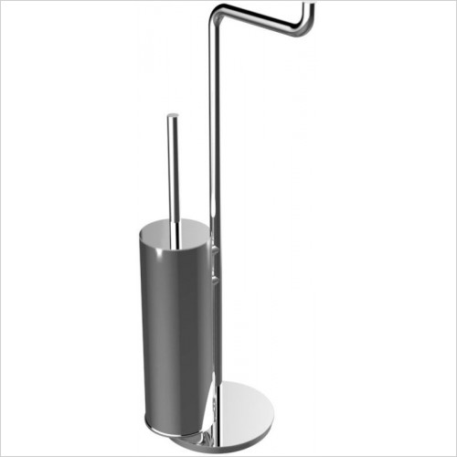 Cifial - TH400 Toilet Brush & Toilet Roll Holder
