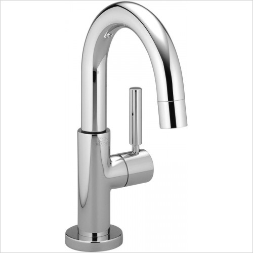 Dornbracht - Tara Basin Pillar Tap With Lever On Right 105mm Projection