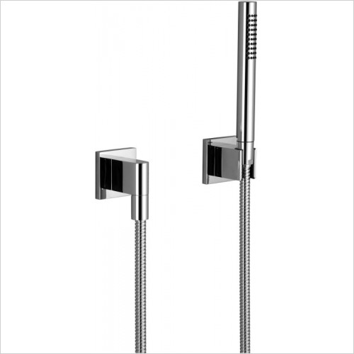 Dornbracht - Hand Shower Set With Individual Rosettes
