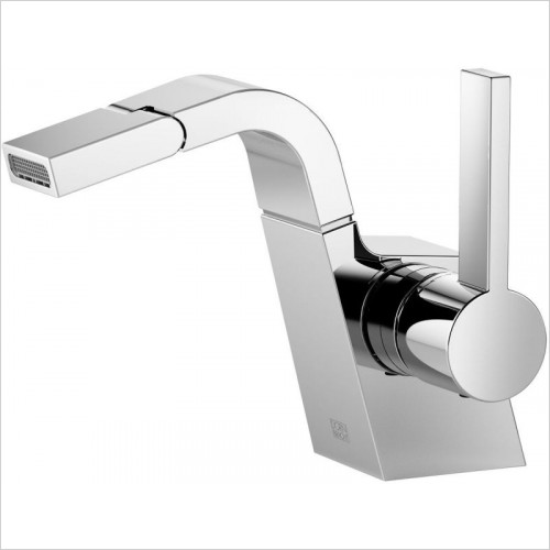 Single-Lever Bidet Mixer Without Pop-Up Waste