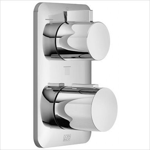Dornbracht - Concealed Thermostat With Three Function Volume Control