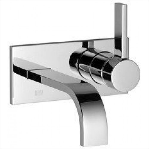 Dornbracht - MEM Wall Mounted Single Lever Basin Mixer 240mm Projection
