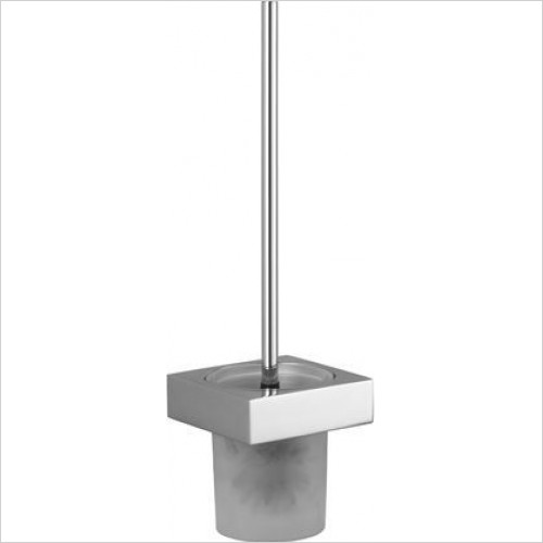 Dornbracht - MEM Toilet Brush Set, Wall Model Projection 118mm