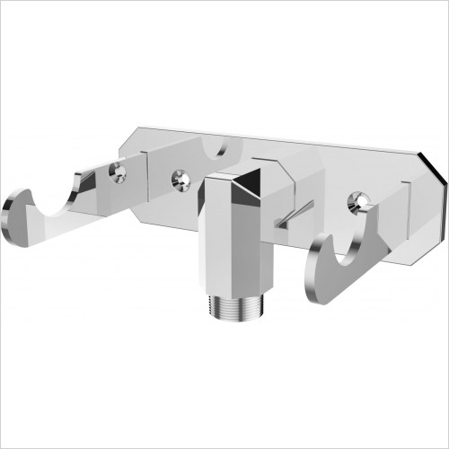 Saneux - Cromwell Outlet Elbow With Handspray Dock
