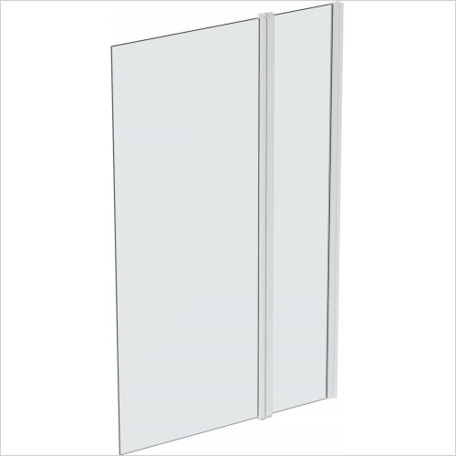 Saneux - Walkin 8mm Hinged Bath Screen